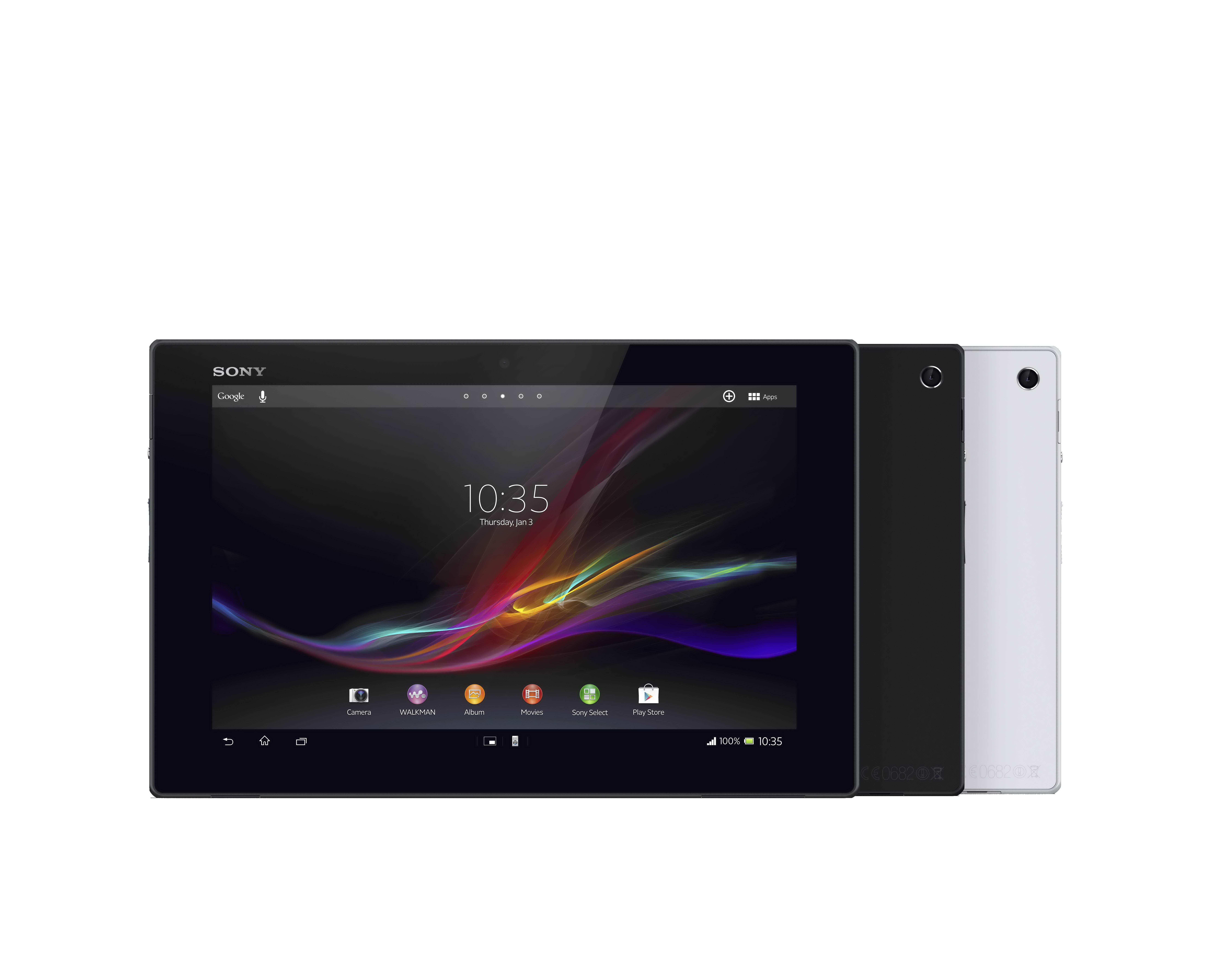 โซนี่ เผยโฉม Xperia Tablet Z แท็บเล็ตกันน้ำได้และบางที่สุด ...