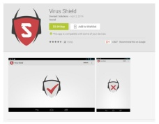 Figure 1- Virus Shield's purchase page on Google Play
